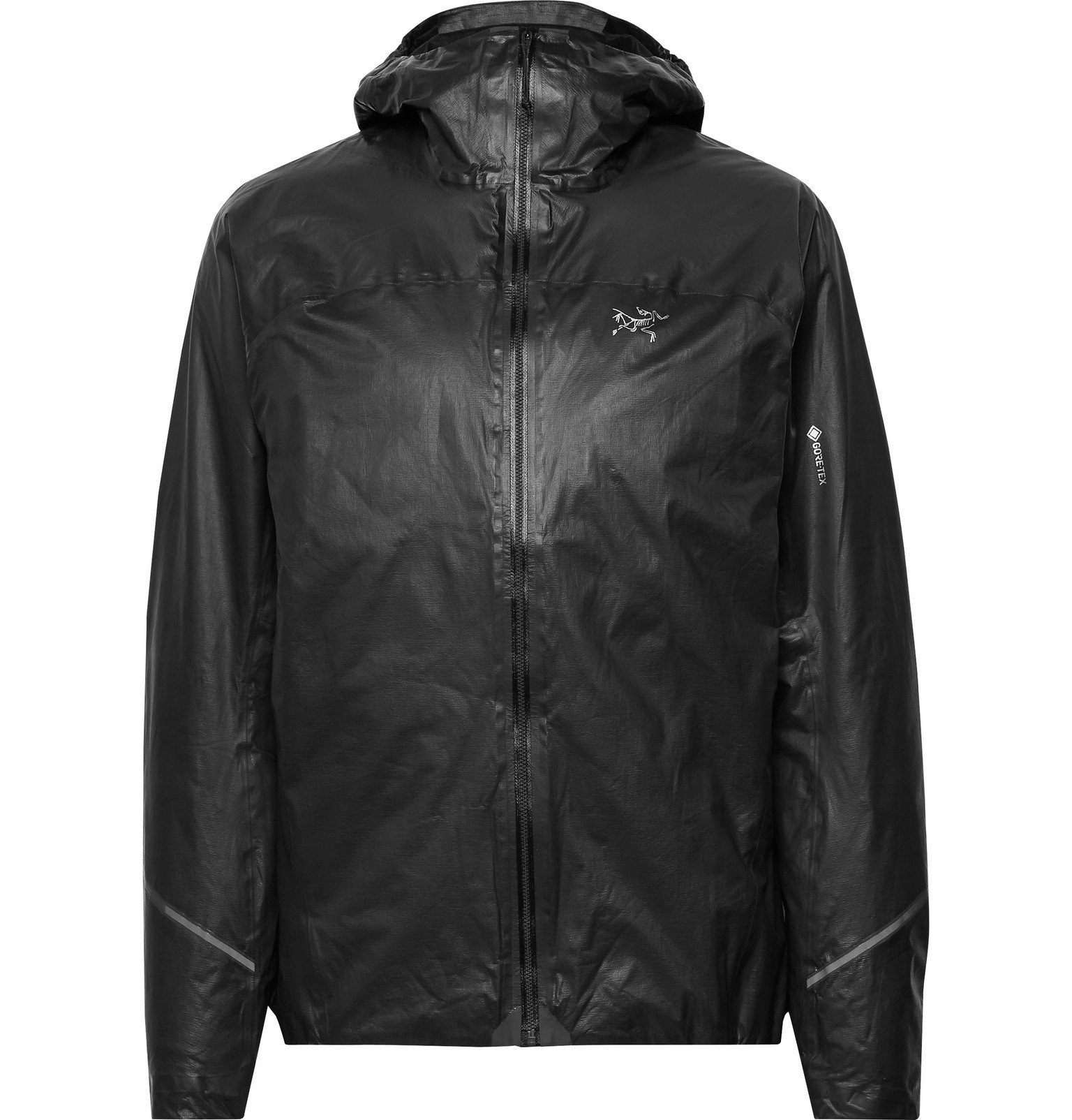 Photo: Arc'teryx - Norvan SL Padded GORE-TEX SHAKEDRY Hooded Jacket - Black
