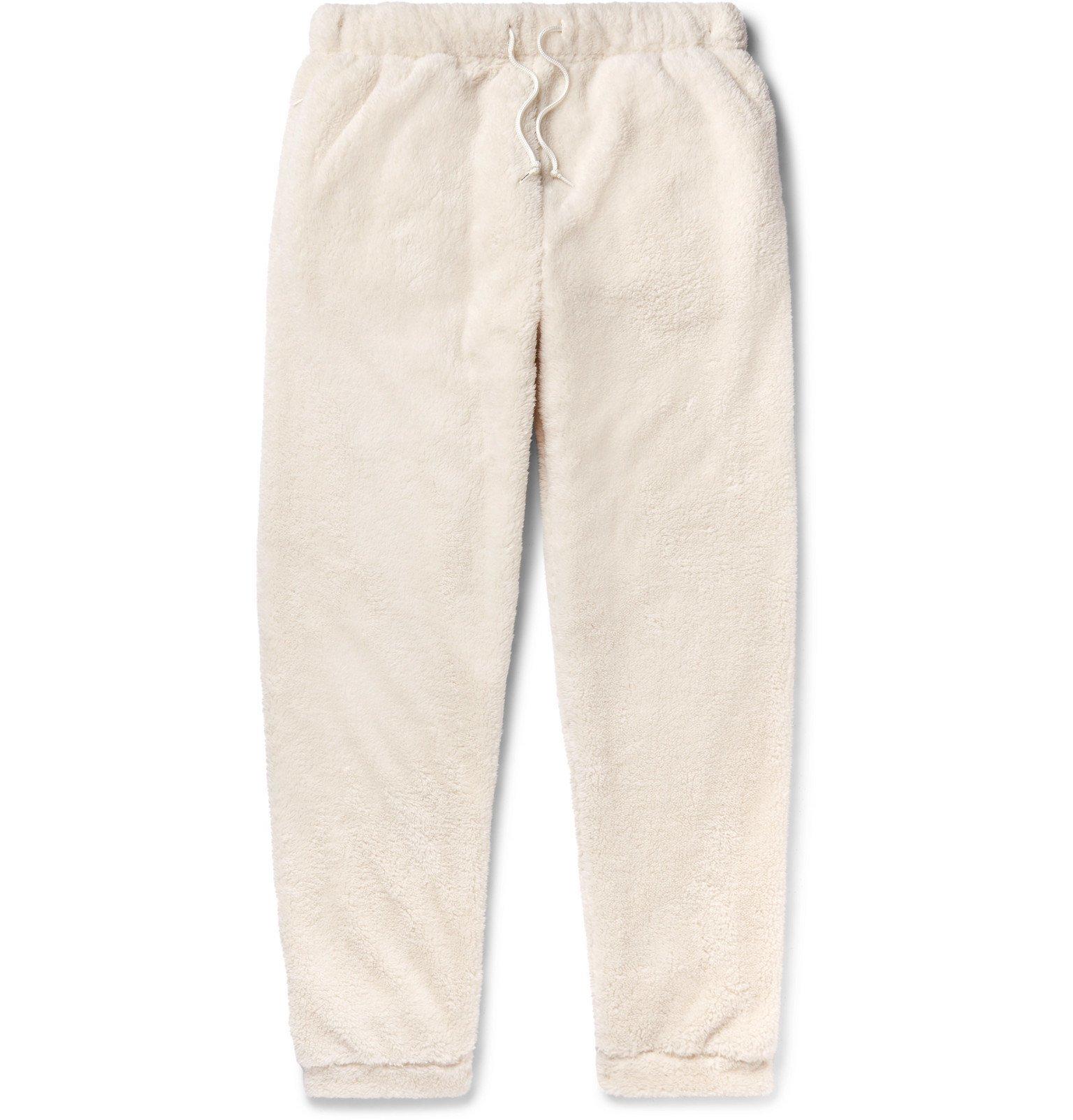 Photo: Neighborhood - Polartec Fleece Sweatpants - White