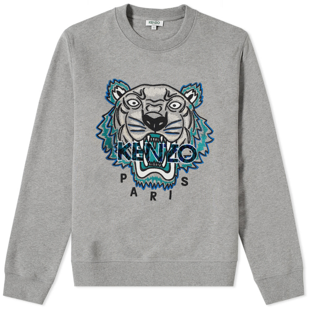 Photo: Kenzo Leopard Tiger Embroidered Sweat