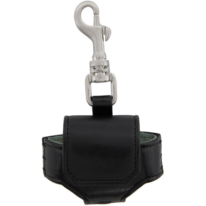 Photo: Rick Owens Drkshdw Black Faux-Leather Airpods Pro Case