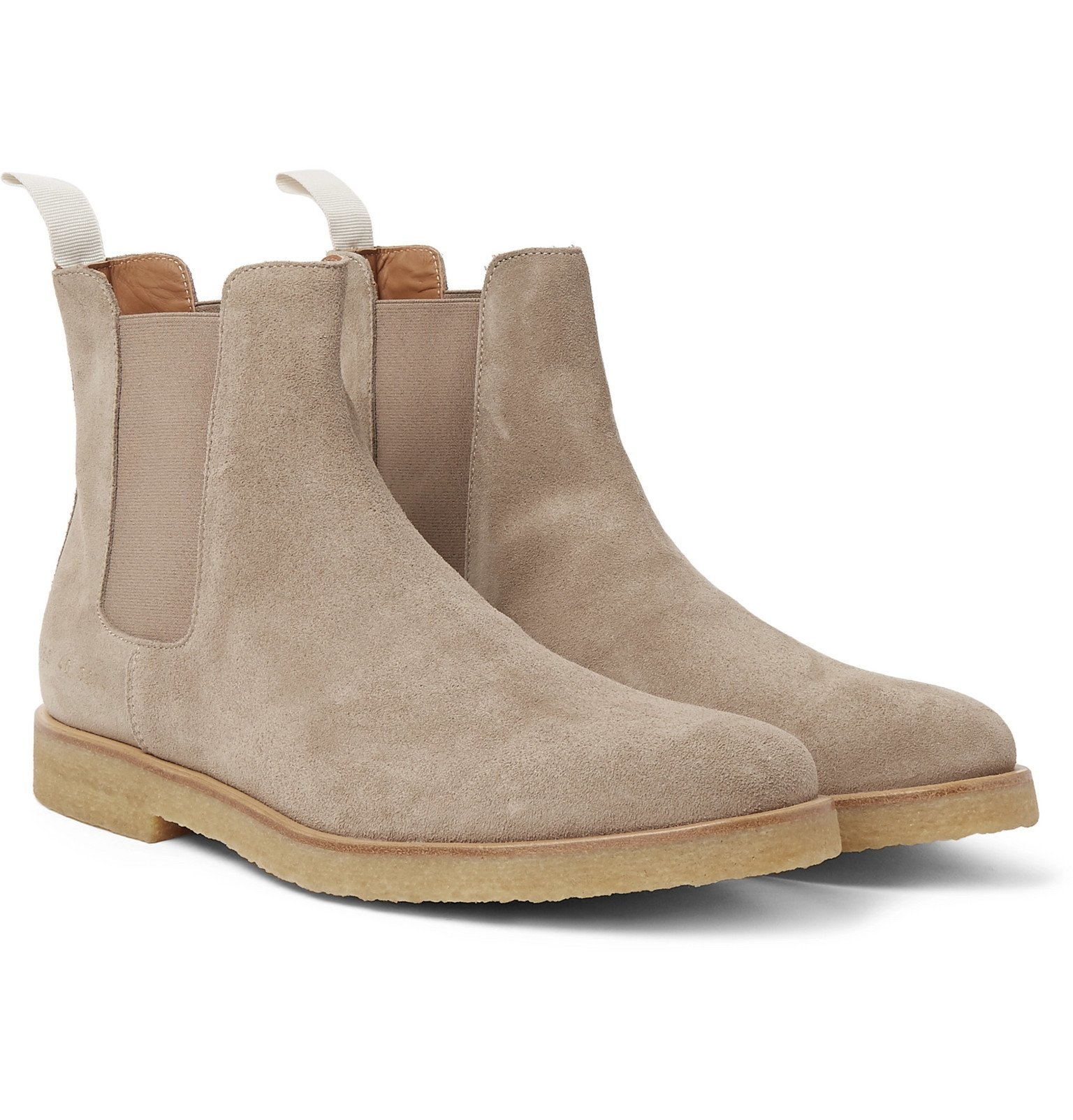 Photo: Common Projects - Suede Chelsea Boots - Gray