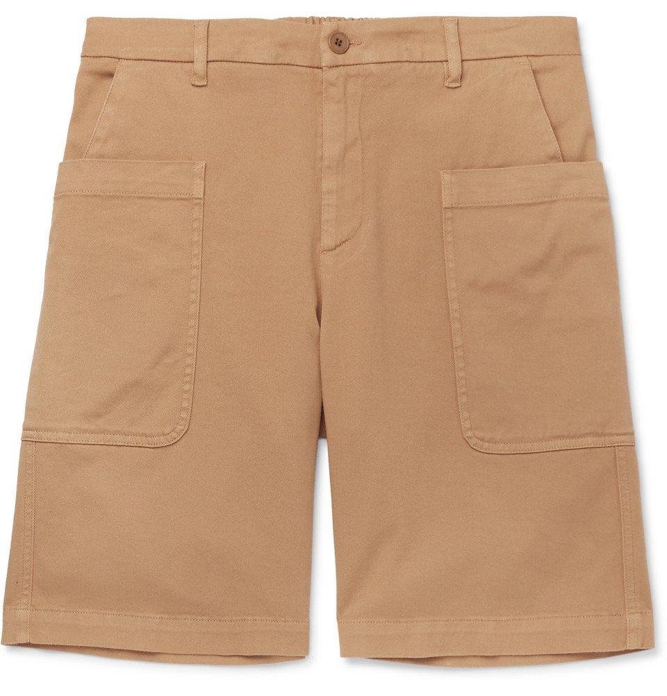 Photo: Barena - Cotton-Blend Twill Shorts - Beige