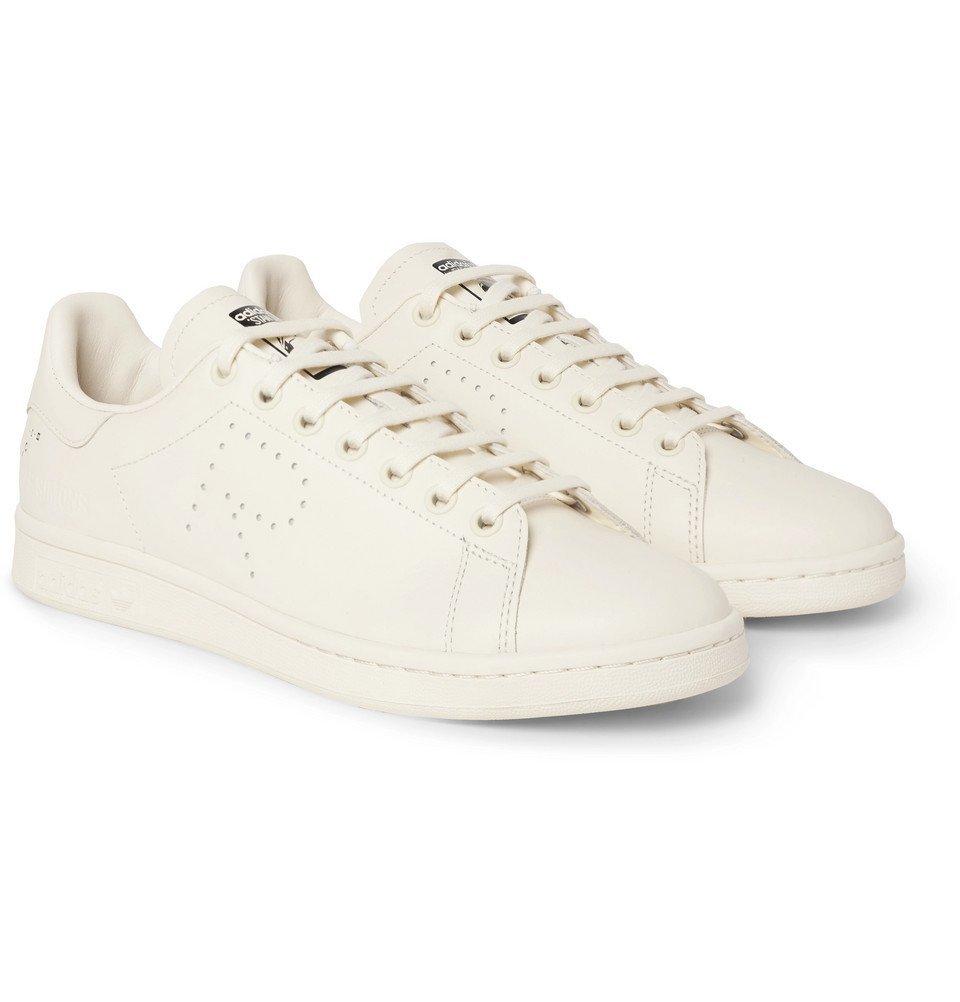 Raf Simons - adidas Originals Stan Smith Leather Sneakers - Men - Cream
