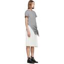 3.1 Phillip Lim Grey Side Tie T-Shirt Dress