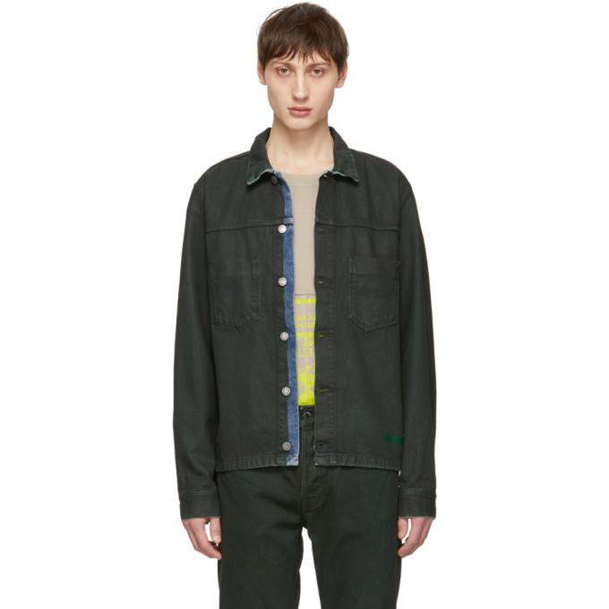 Photo: Nudie Jeans Green Denim Ronny Jacket