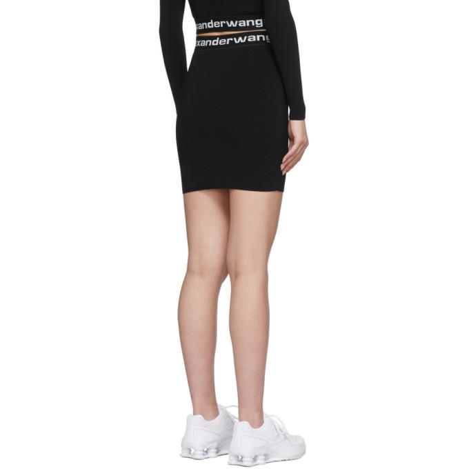 alexanderwang.t Black Bodycon Miniskirt