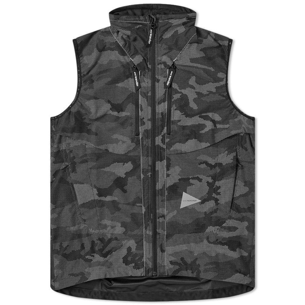 Photo: And Wander Reflective Raschel Ripstop Vest