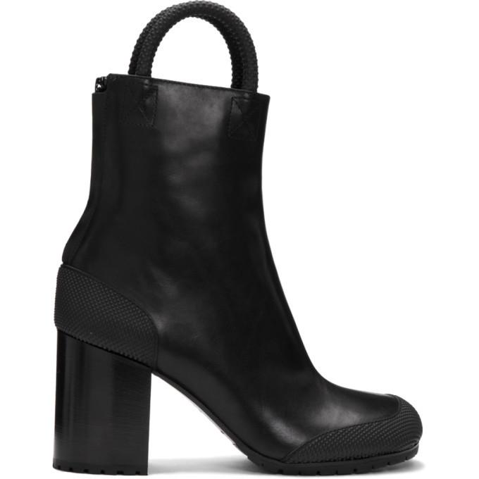 Photo: Random Identities Black Leather Boots