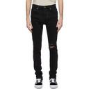 Ksubi Black Chitch Knight Rider Jeans