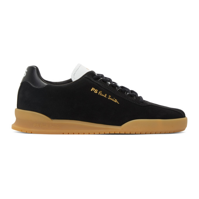 Photo: PS by Paul Smith Black Suede Achirus Sneakers