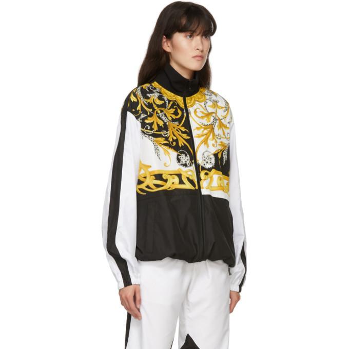 Versace White Barocco Track Jacket