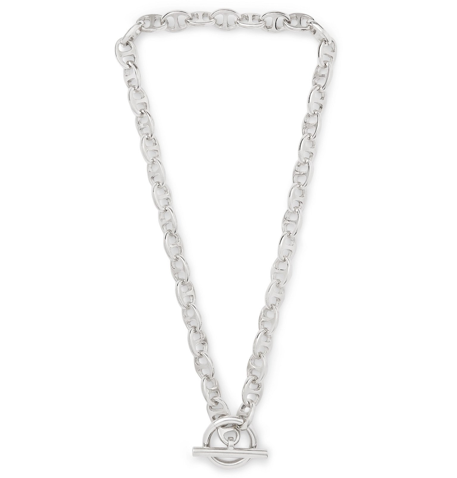 Photo: MAPLE - Sterling Silver Chain Necklace - Silver