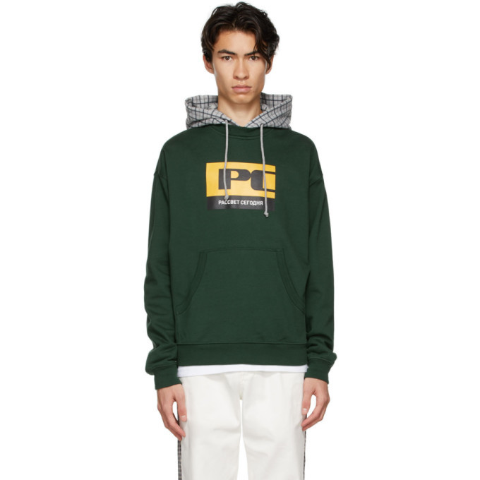 Photo: Rassvet Green PC Logo Hoodie