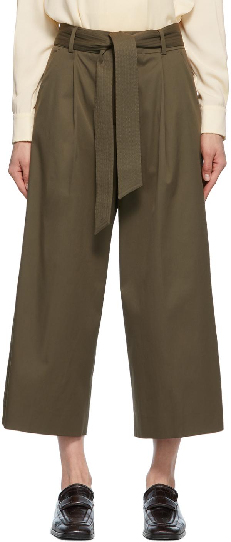 Photo: Max Mara Khaki Ghisa Trousers