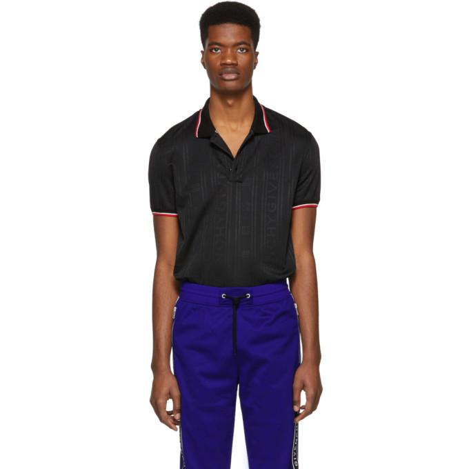 Photo: Givenchy Black 4G Polo Shirt
