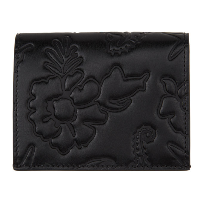 Photo: Thom Browne Black Sea Icon Double Card Holder