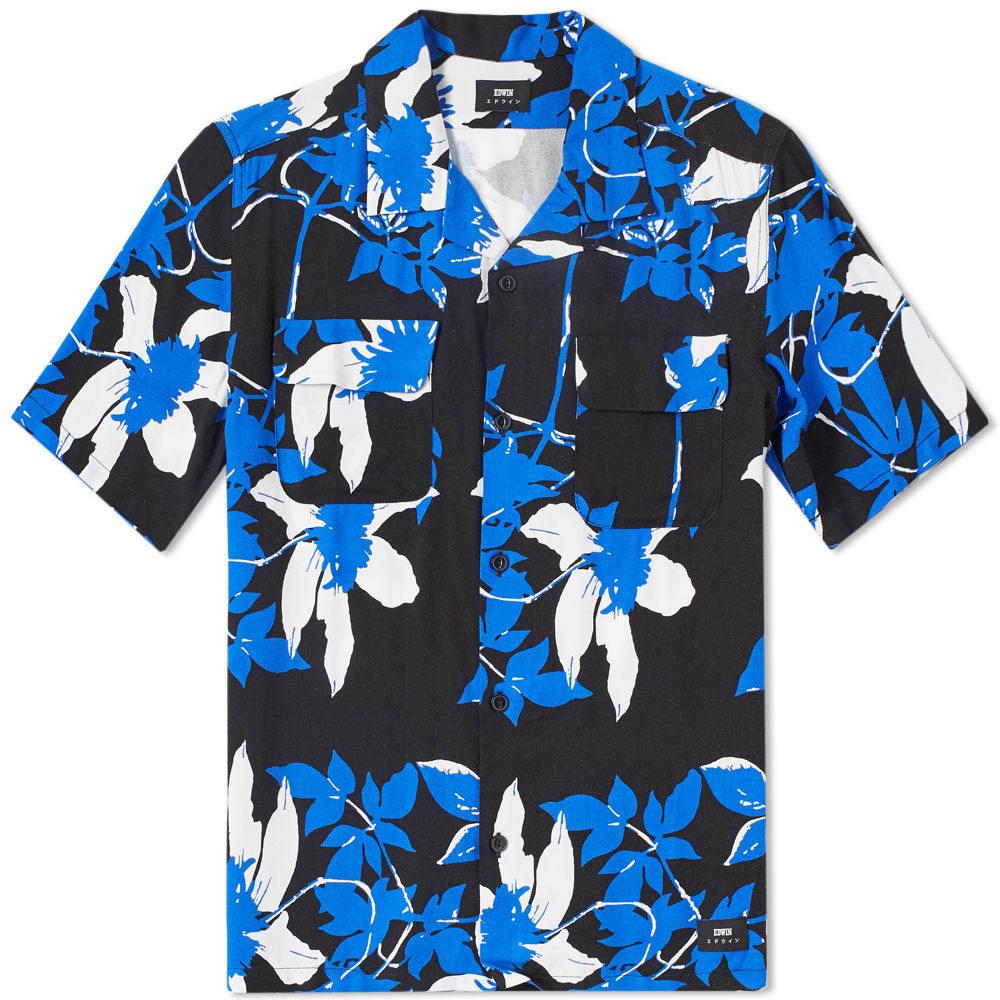 Photo: Edwin Short Sleeve Garage Shirt Blue