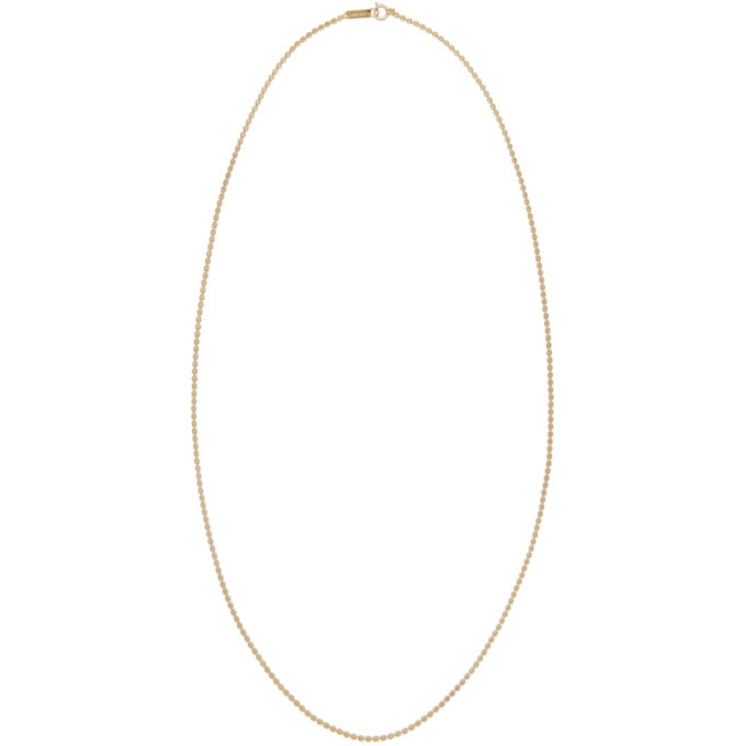 Gold Long Hunter Sautoir Necklace Isabel Marant
