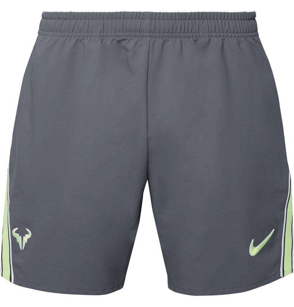 Photo: Nike Tennis - NikeCourt Flex Rafa Ace Dri-FIT Shorts - Gray