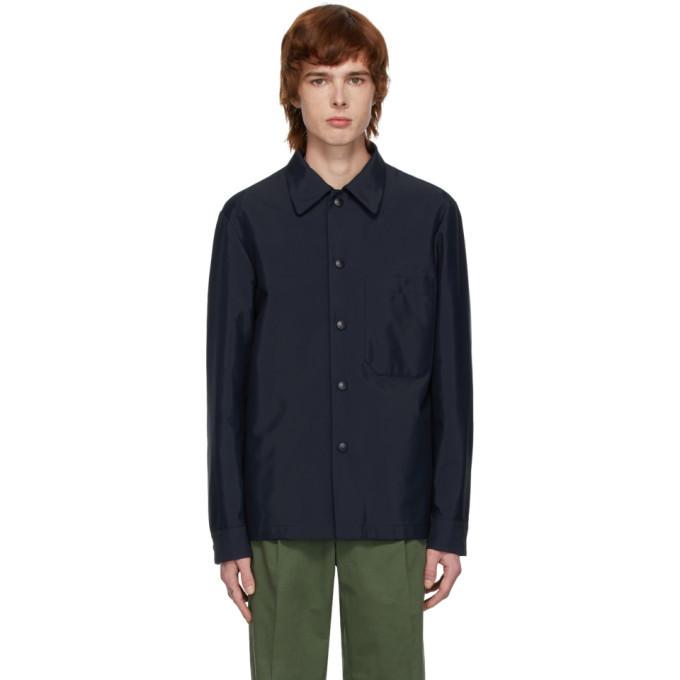 Photo: Barena Navy Marotta Shirt Jacket