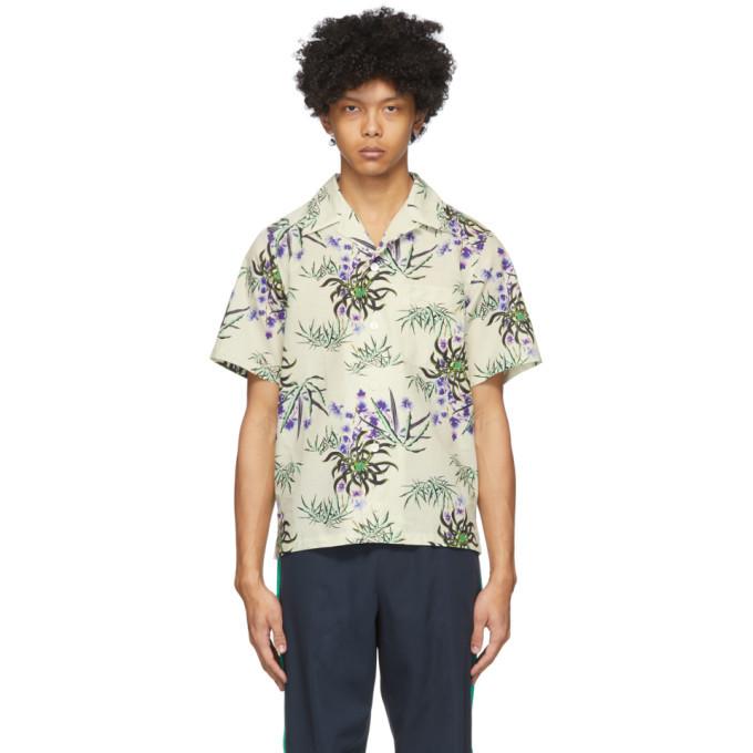 Photo: Kenzo Off-White Sea Lily Shirt