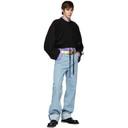 Botter Black Upside Down Jogging Lounge Pants