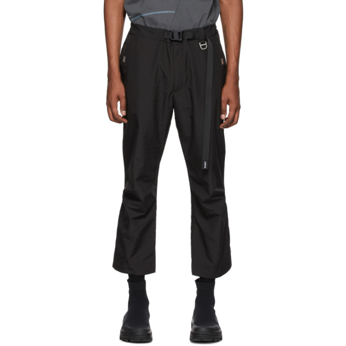 Photo: C2H4 Black STAI Tailor Capri Trousers