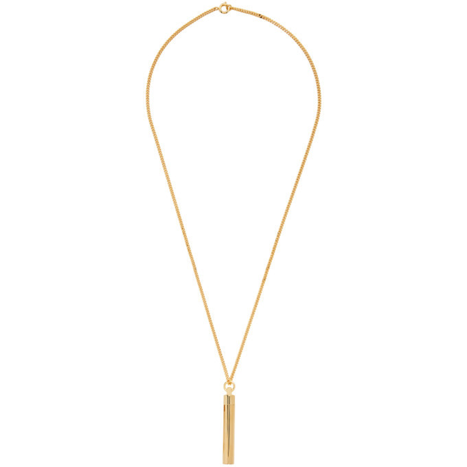 Photo: VETEMENTS Gold Powder Necklace