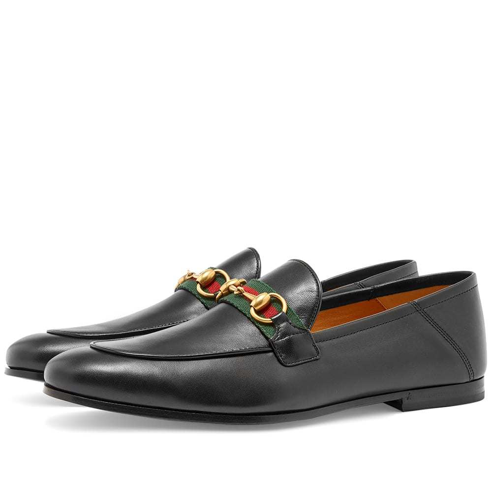 Photo: Gucci Brixton Bit Web Loafer Black