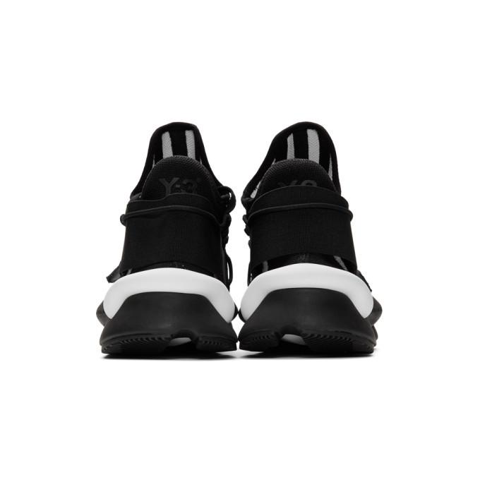 Y-3 Black Kaiwa Knit Sneakers
