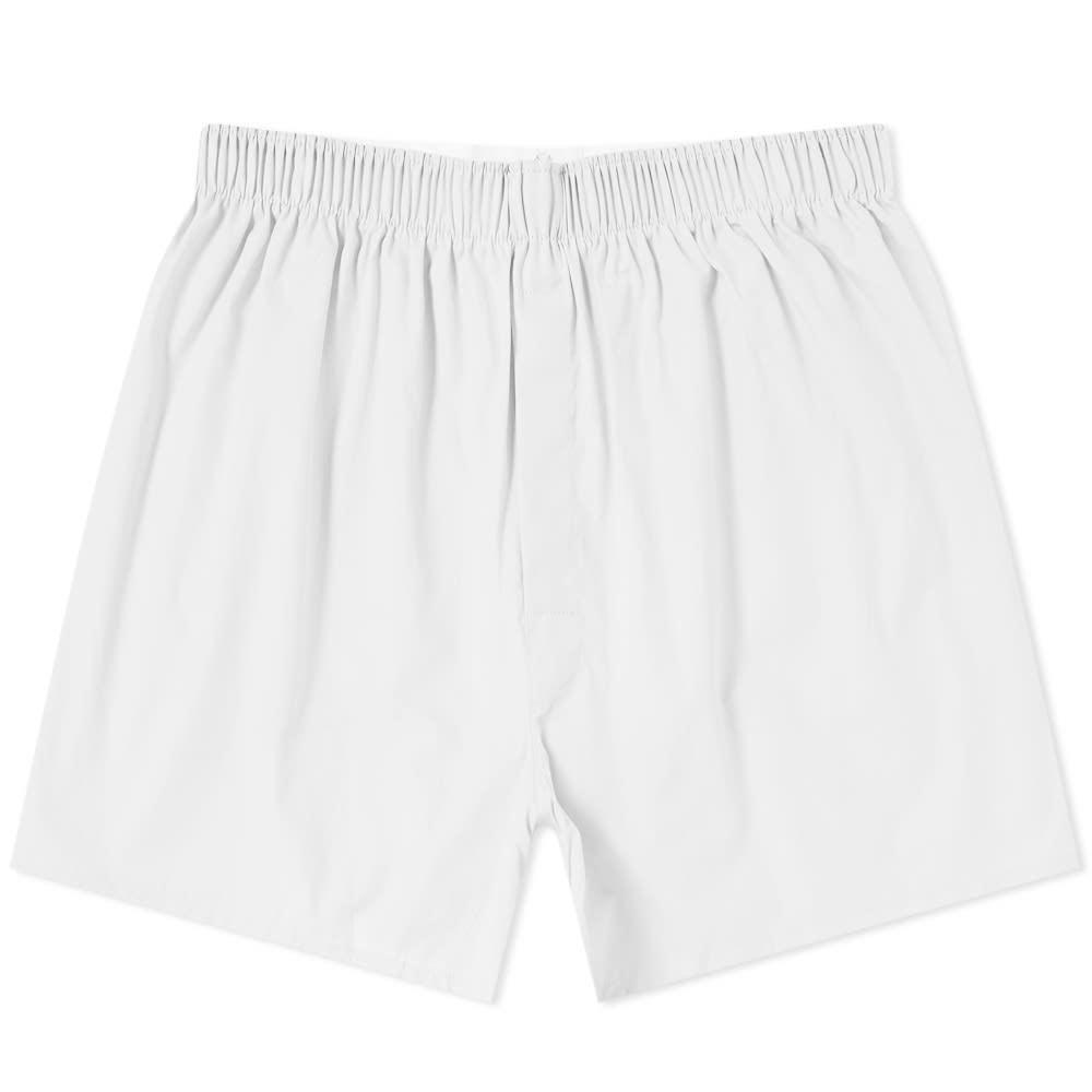 Sunspel Classic Boxer Short White