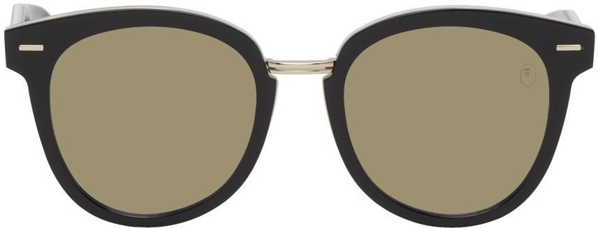 Photo: BAPE Black & Green BS13002 Camo Sunglasses