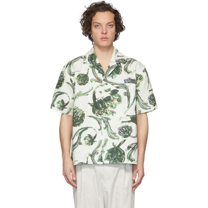 Photo: Jacquemus White La Chemise Jean Short Sleeve Shirt