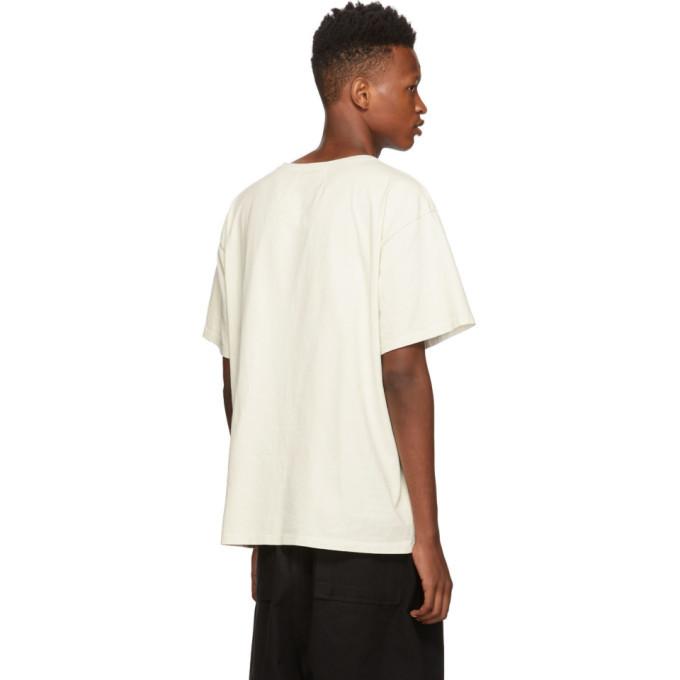 Rhude Off-White Pocket T-Shirt