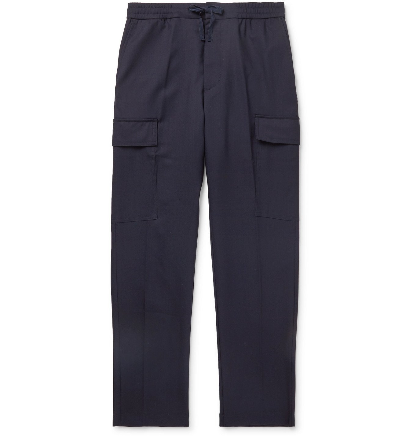 Photo: Officine Generale - Paolo Stretch-Cotton Twill Cargo Trousers - Blue