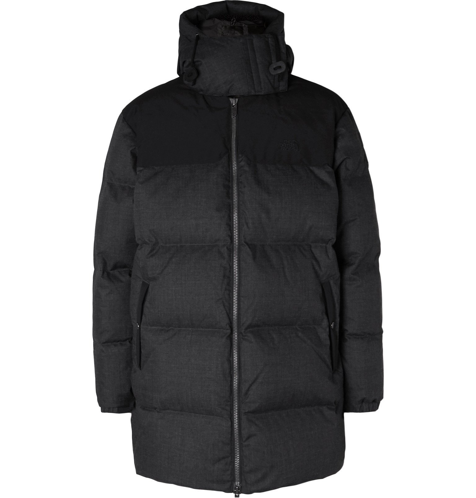 Photo: The North Face - Kazuki Kuraishi Black Series Nuptse Quilted Pertex Quantum Hooded Down Jacket - Black