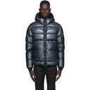 C.P. Company Navy Down Hooded Jacket