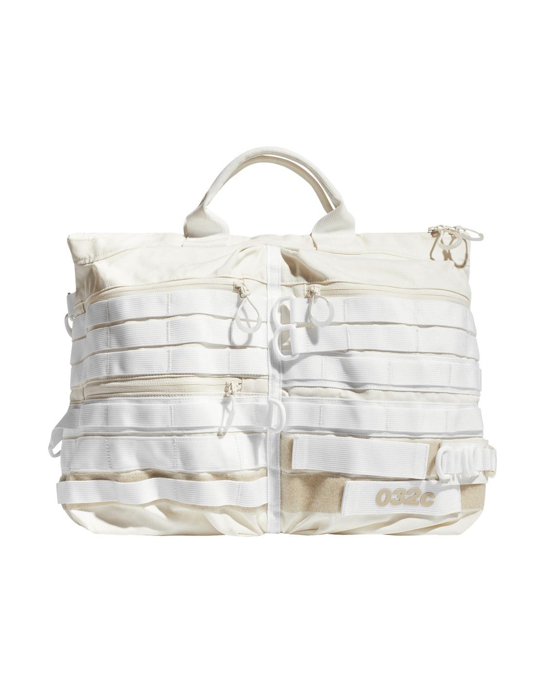 Photo: Adidas Originals 032c Duffel Bag Cotton White