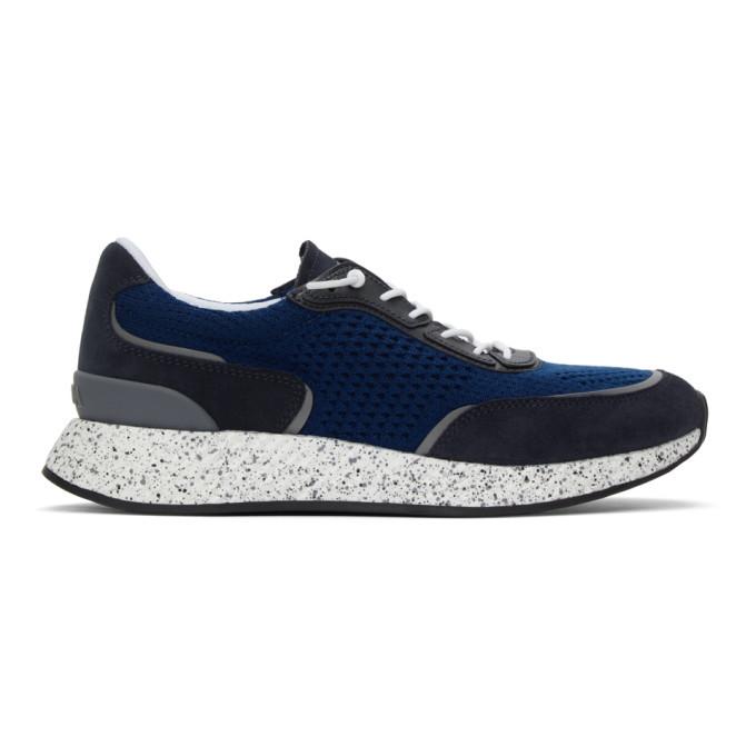 Photo: Z Zegna Blue Piuma Sneakers