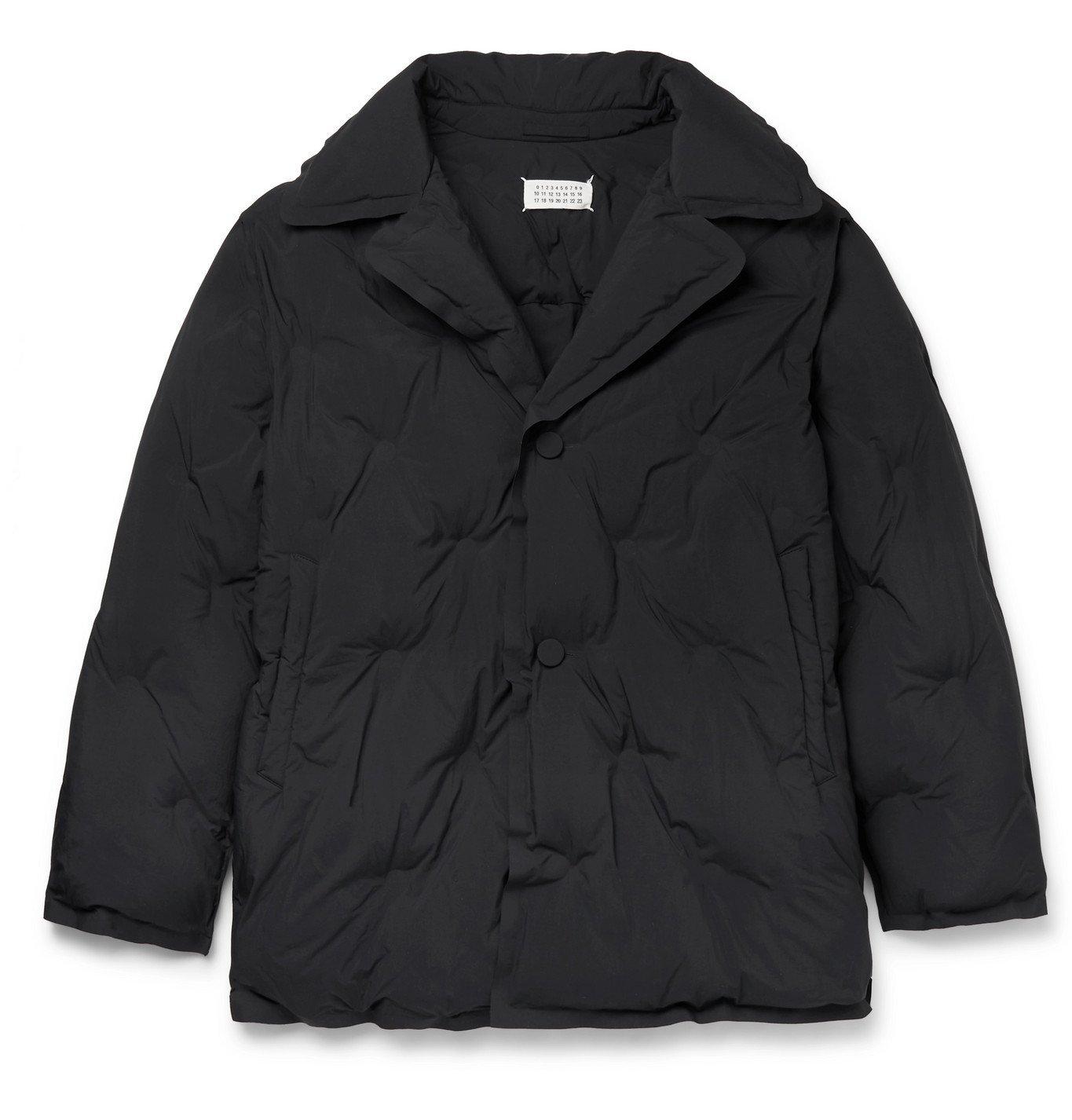 Photo: Maison Margiela - Quilted Nylon Jacket - Black