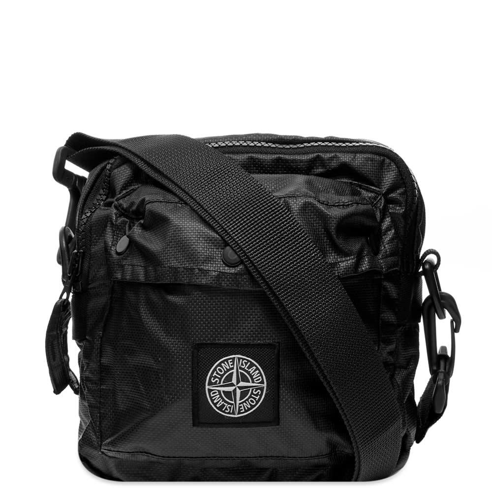Photo: Stone Island Mussola Gommata Side Bag