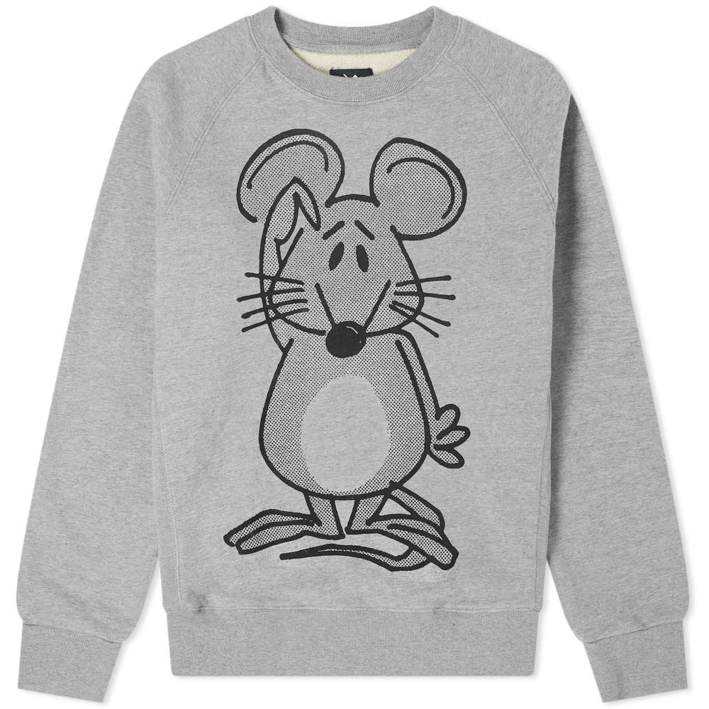 Photo: The Trilogy Tapes Mouse Crew Sweat