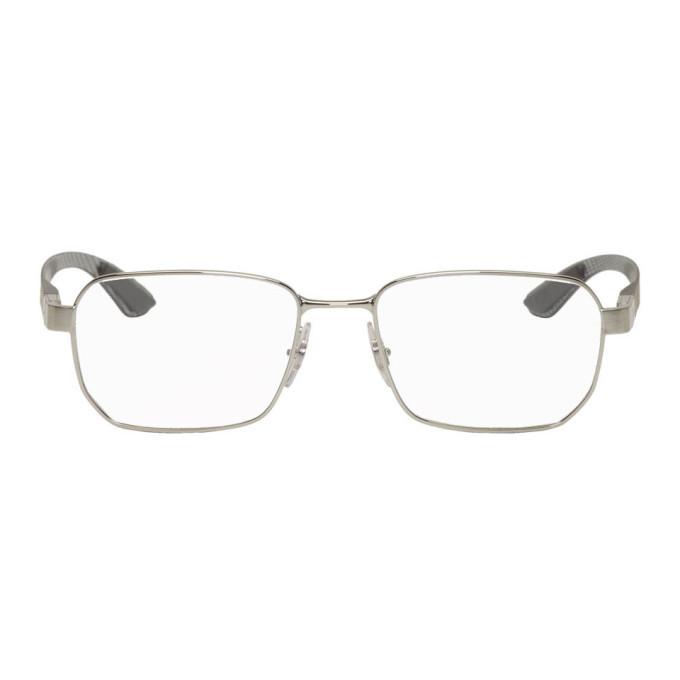 Photo: Ray-Ban Silver Tech Glasses