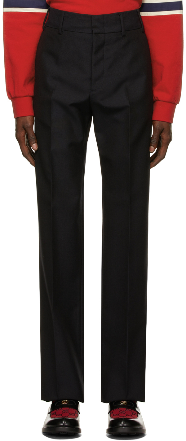 Photo: Gucci 2015 Re-Edition Mohair & Wool Trousers
