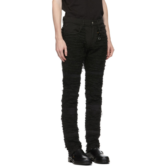 1017 ALYX 9SM Black Blackmeans Edition Six-Pocket Jeans