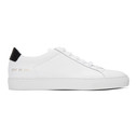 Common Projects White and Black Retro Sneakers