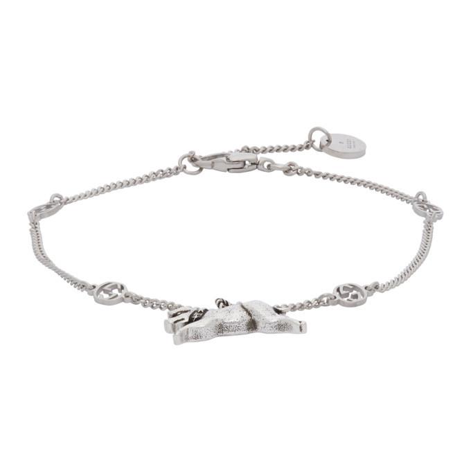Photo: Gucci Silver Piglet Bracelet