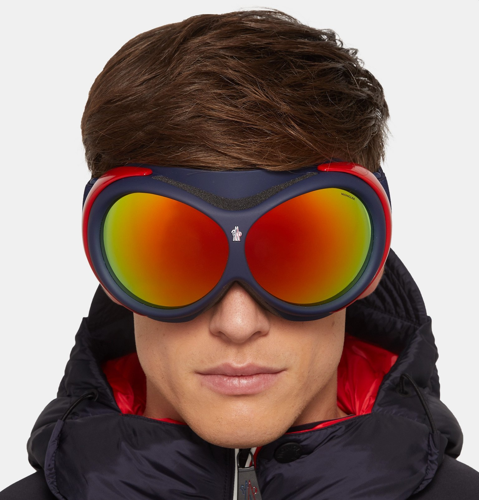 Moncler - Mirrored Ski Goggles - Black