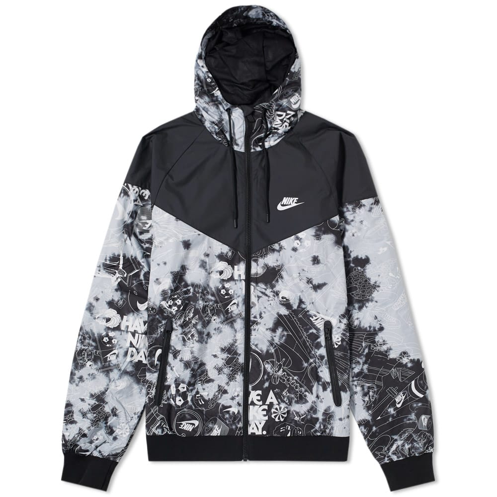 Photo: Nike Tie Dye Windrunner Grey
