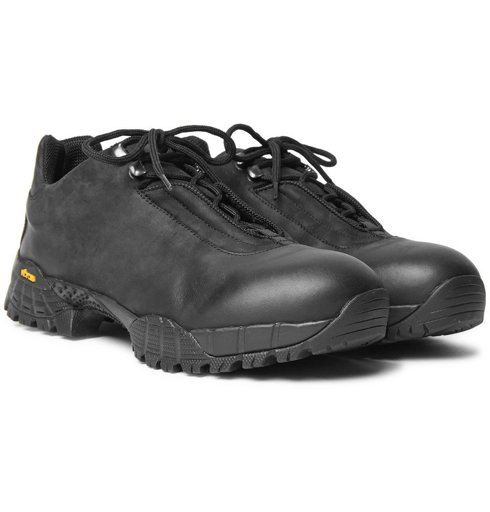 1017 ALYX 9SM - Oiled-Suede Hiking Boots - Men - Black